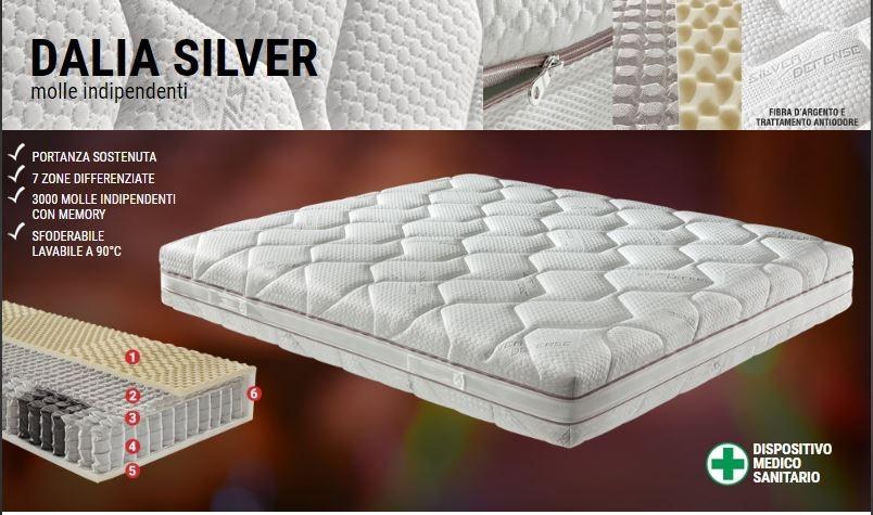 Materasso Dalia Silver Molle Indipendenti Disp Medico 1119428 Idearematerassi Biancheria Per La Casa